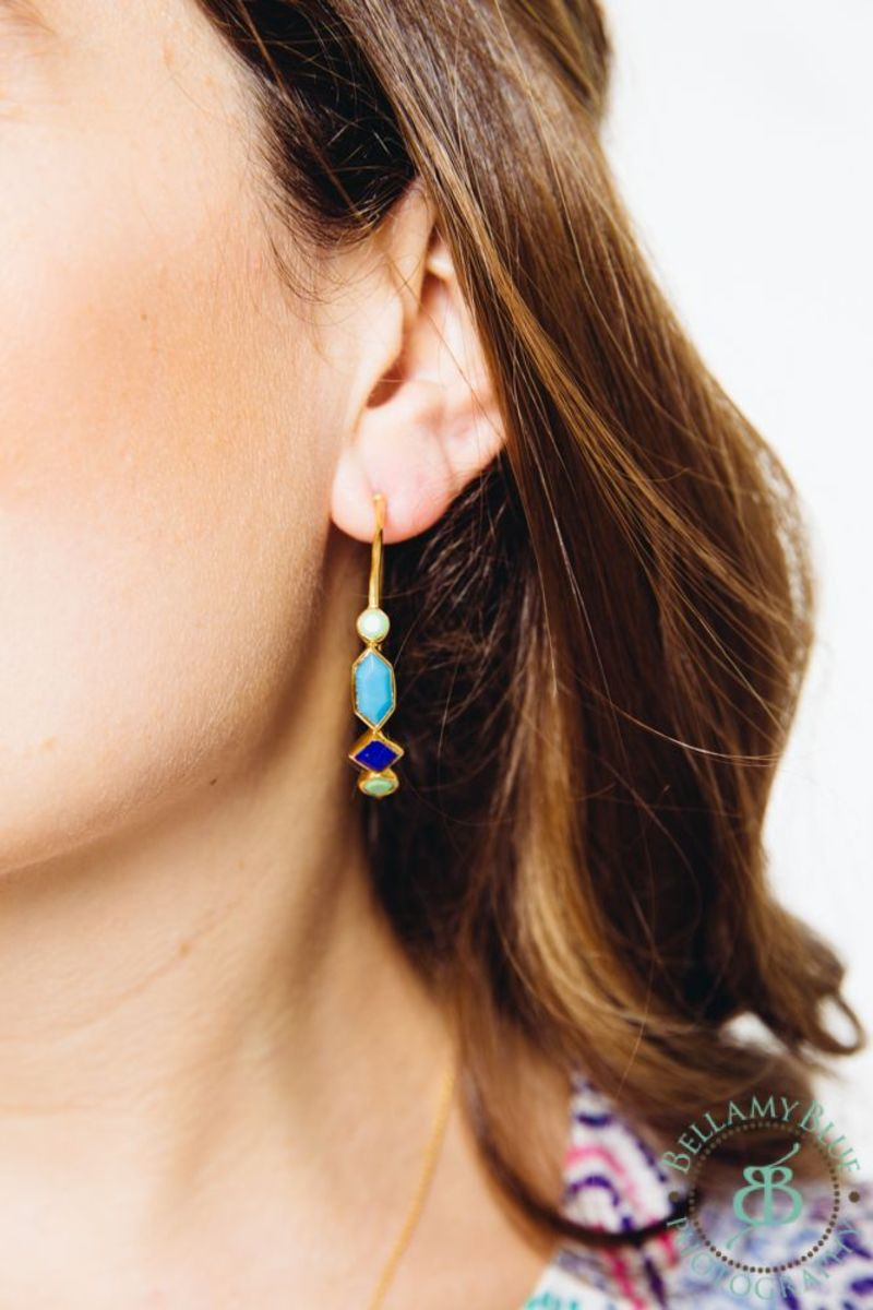 monday mingle earrings stella & dot