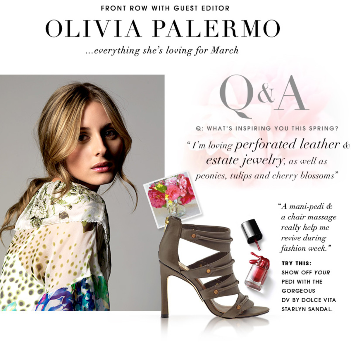 Olivia Palermo's Spring Style