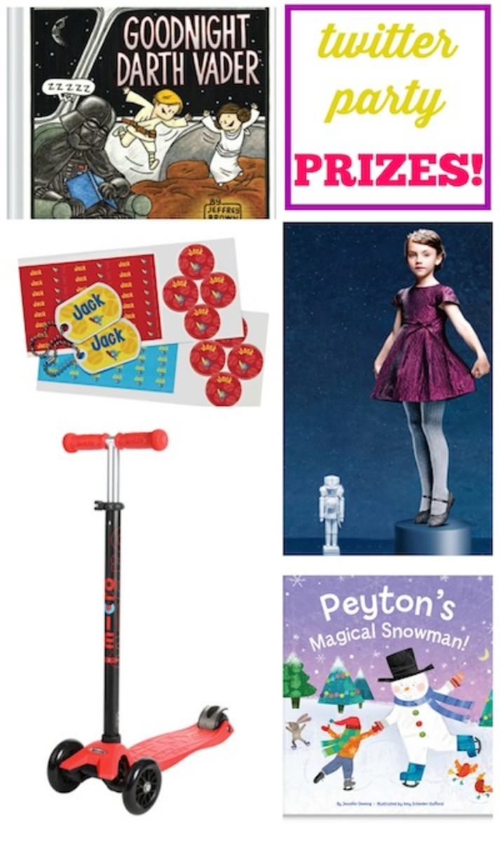 twitter party prizes
