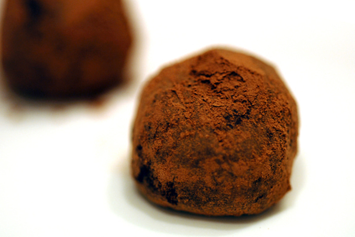 Gluten Free Chocolate Orange Truffles