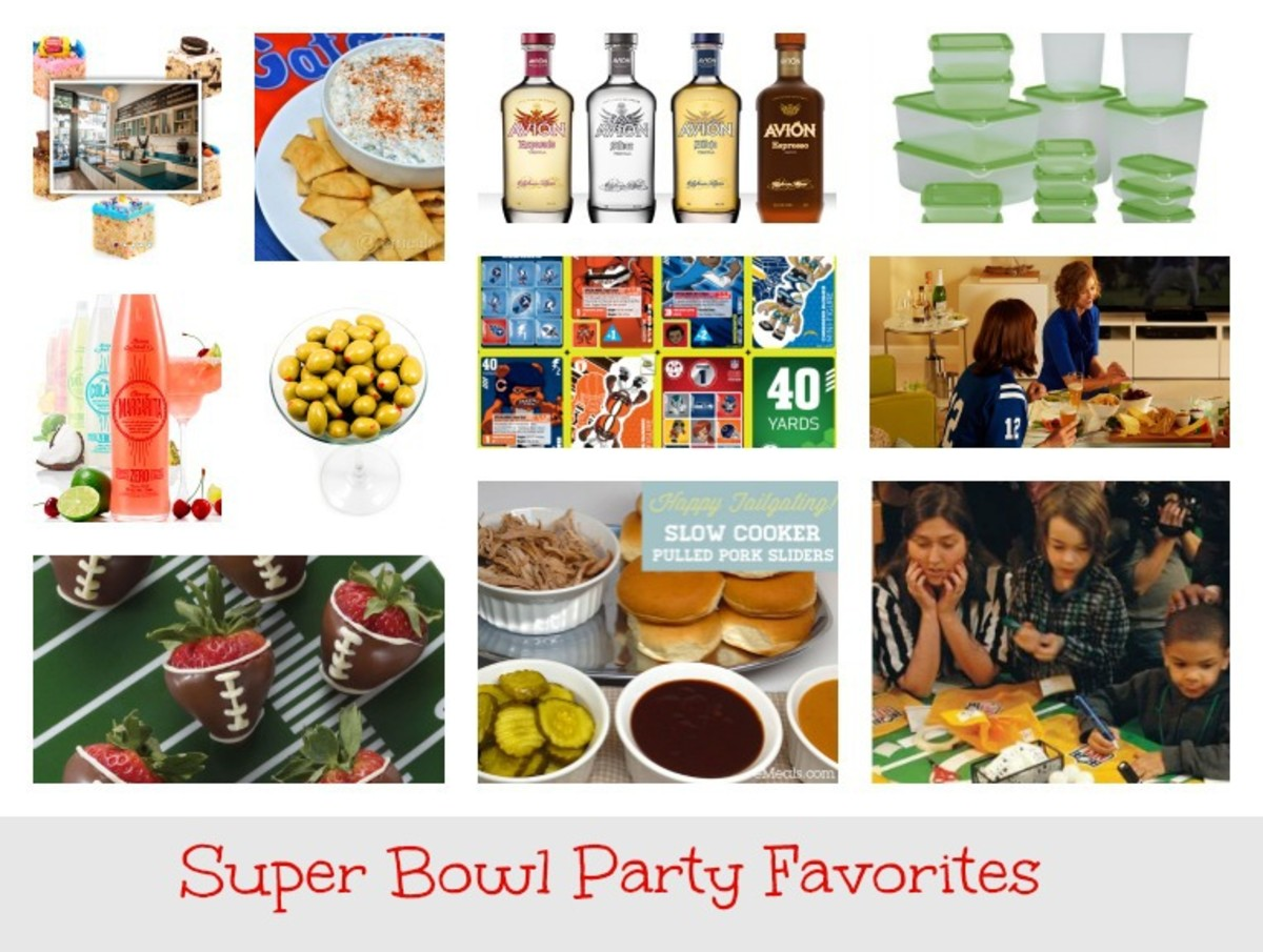 Super Bowl Party Favorites