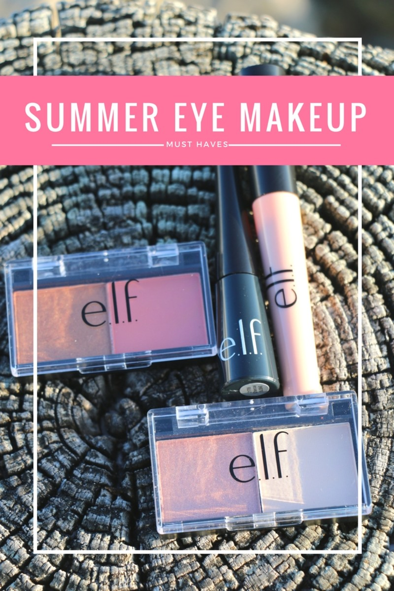 Makeup Must Haves For Beginners: Summer Eye Makeup Must Haves