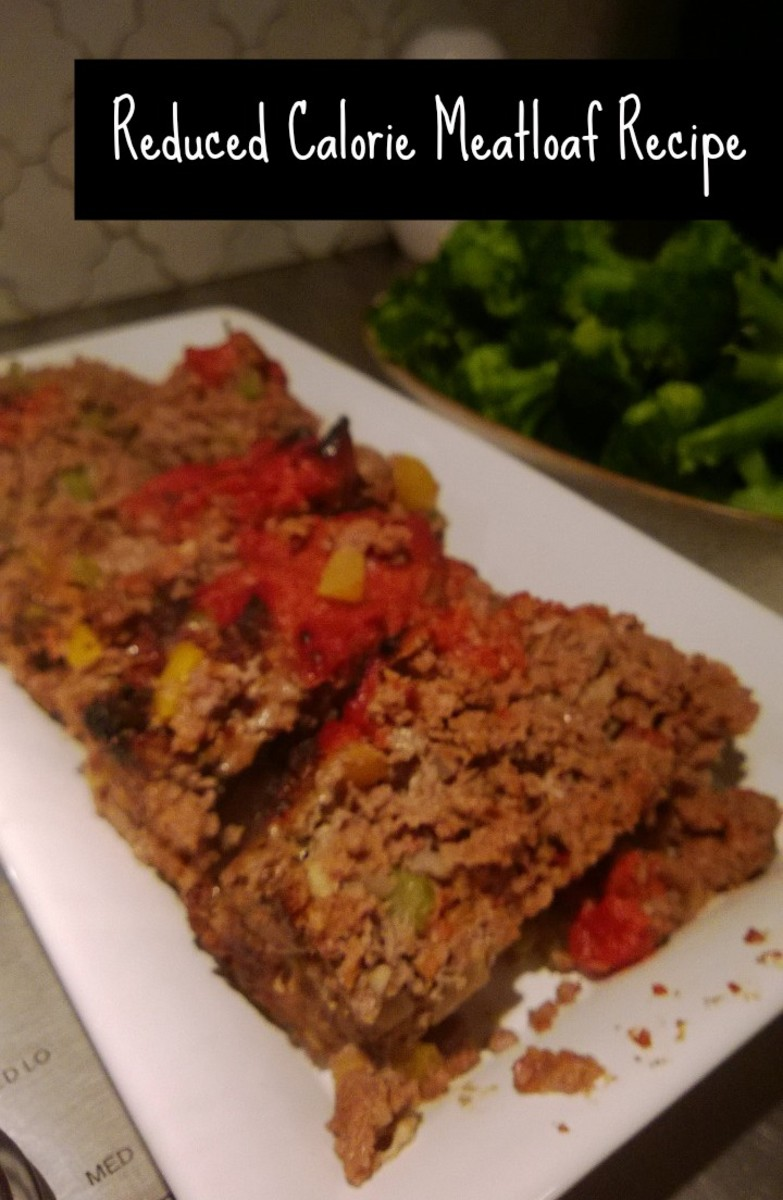 reduced calorie meatloaf