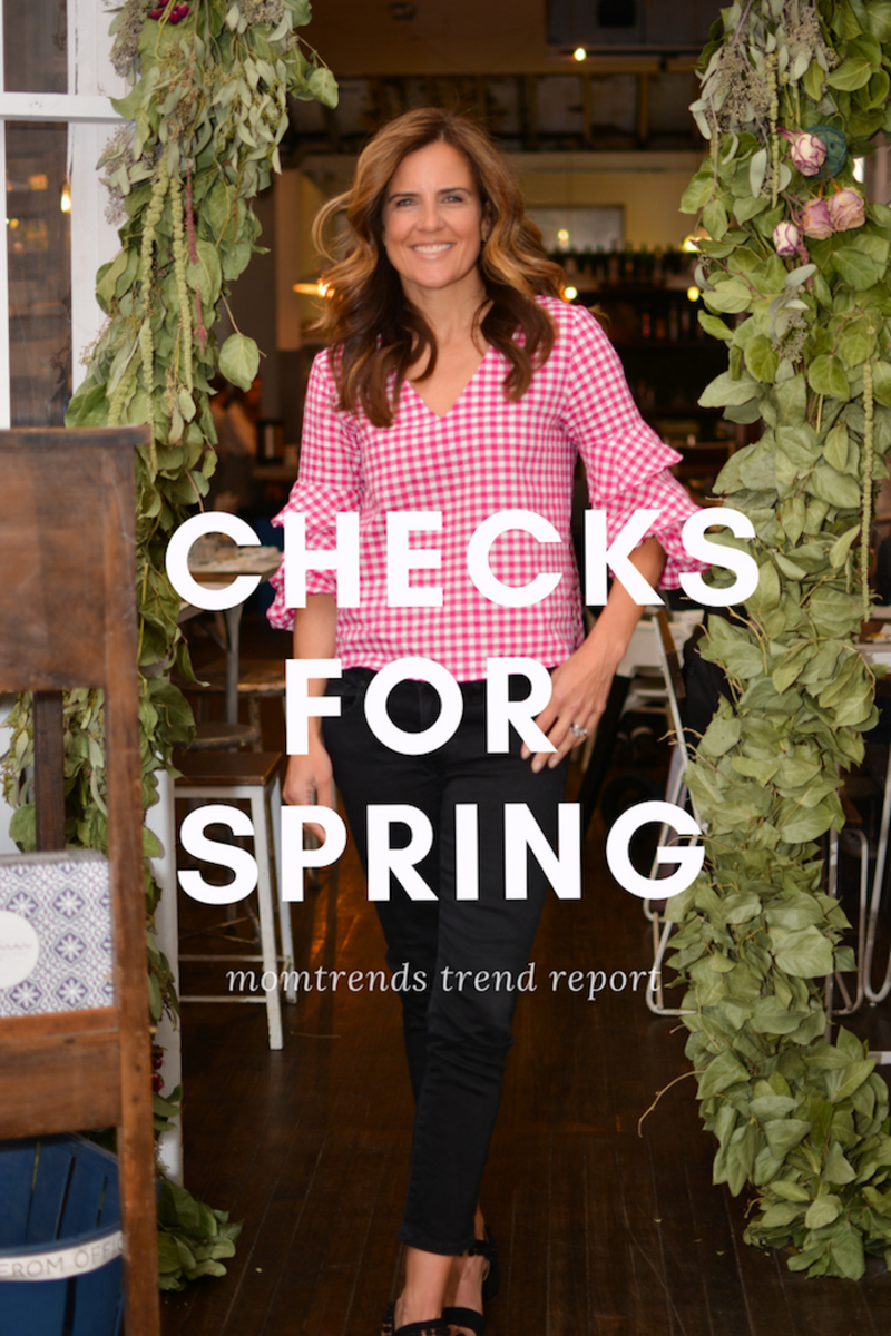 trend alert: checks for spring. How to wear them and how to pair them.