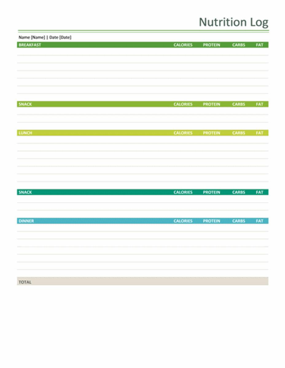meal planner spreadsheet