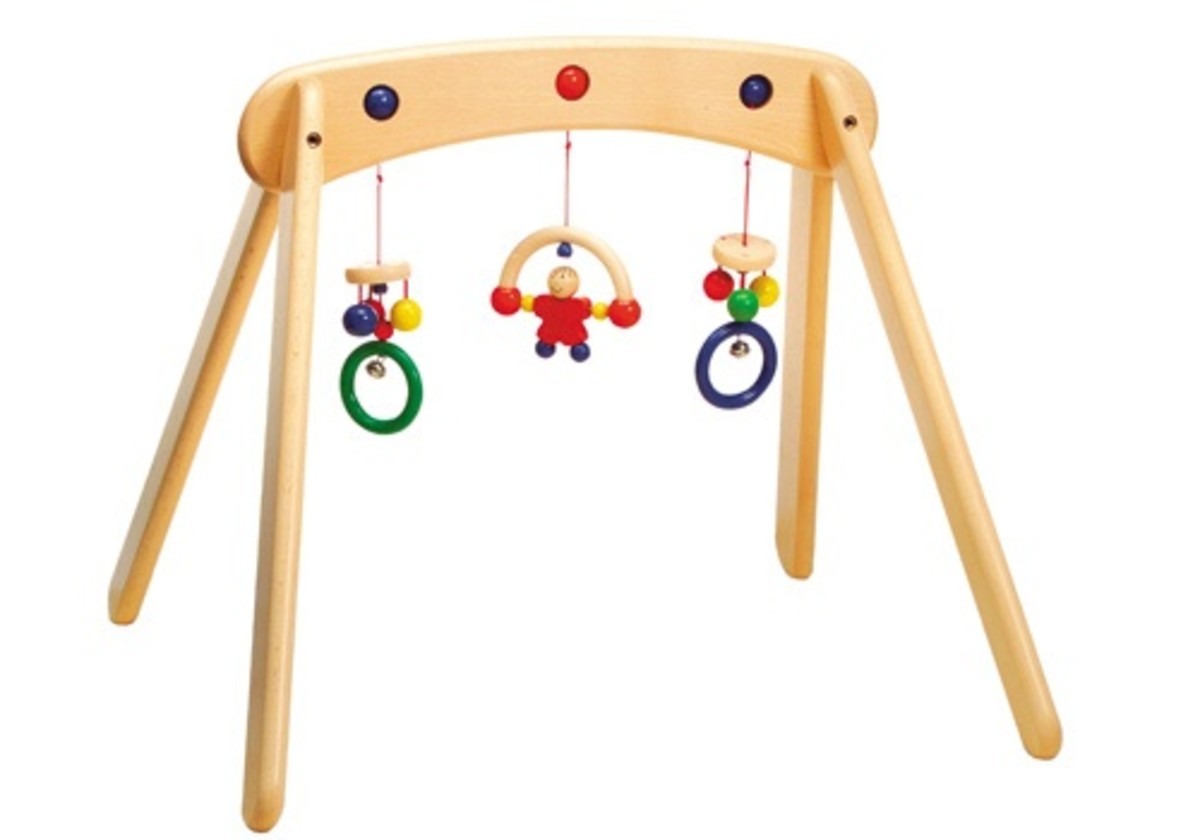 wooden play gyms
