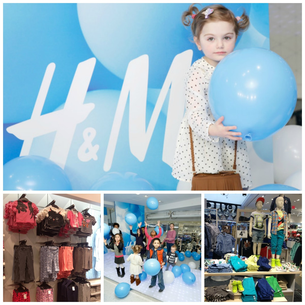 h&m hosts kids spring event