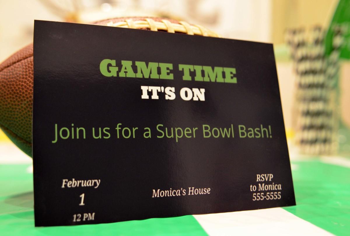 invitation game day