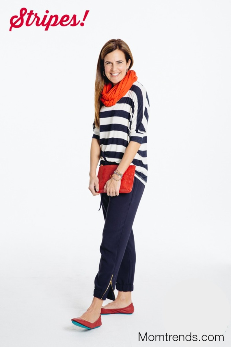 bright stripes for spring
