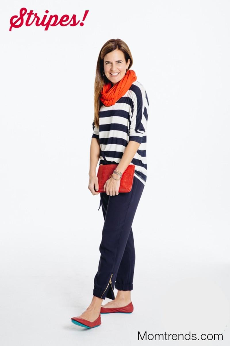 bright stripes for spring
