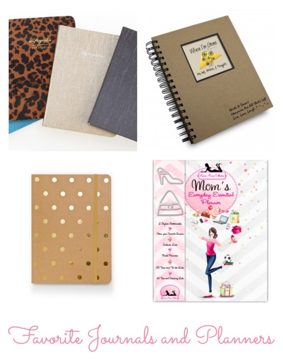 Favorite Journals and Planners