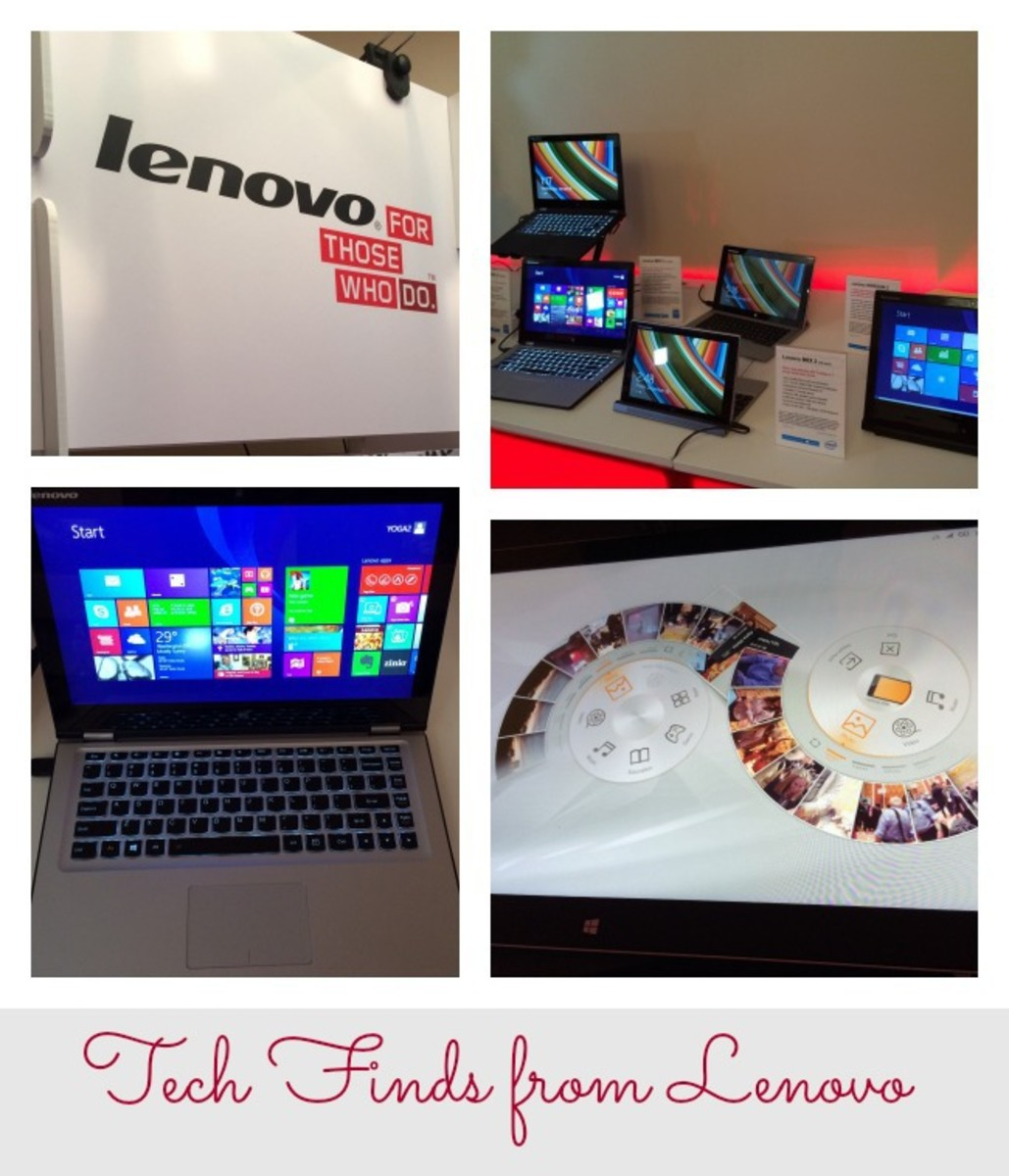Tech Finds from Lenovo