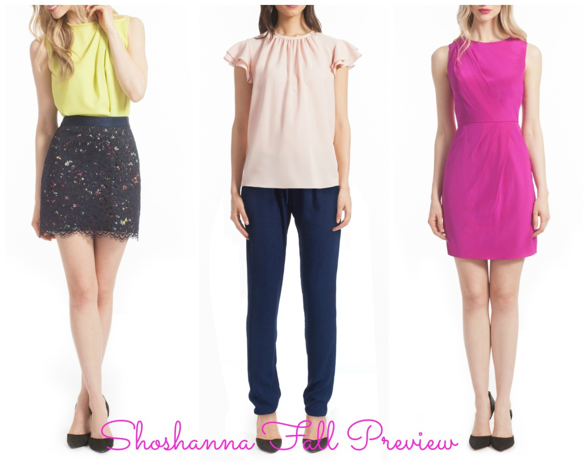 shoshanna fall preview