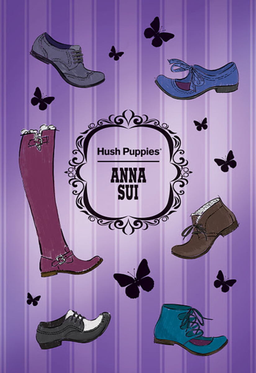 Anna-Sui-Hush-Puppies-Postcard-Cover