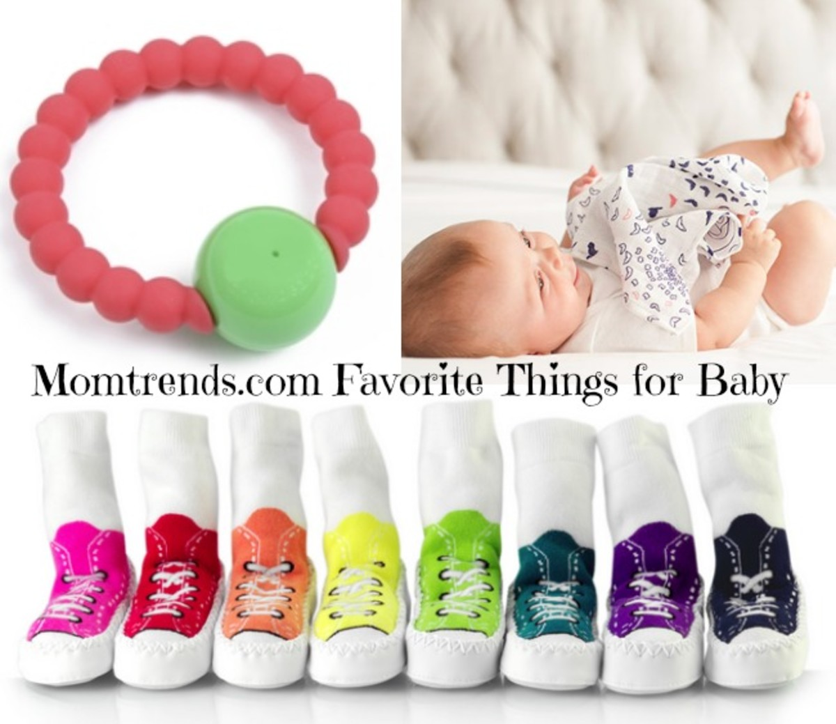 favorite things for baby, moccons, bebe au lait, chewbeads mercer teether