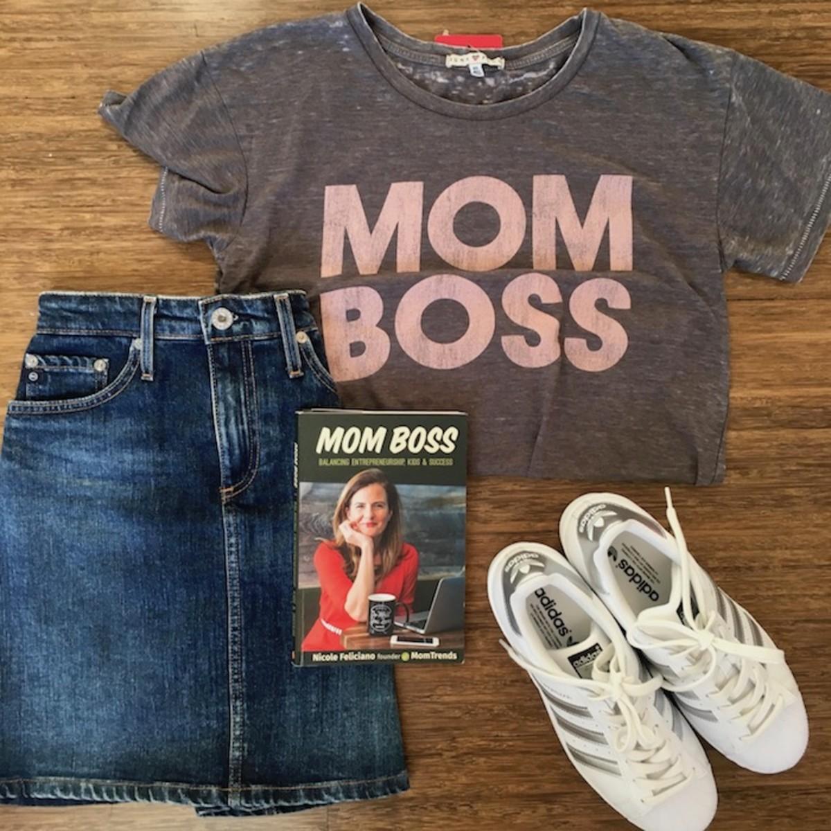 mom boss - super mom great business woman
