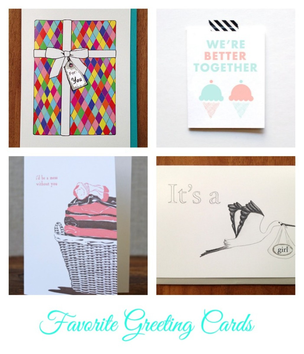 Favorite Greeting Cards, cards