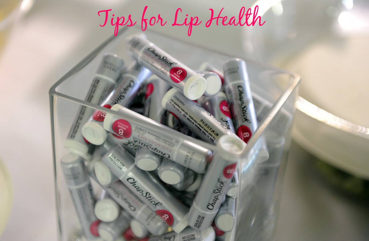 Tips for Lip Health