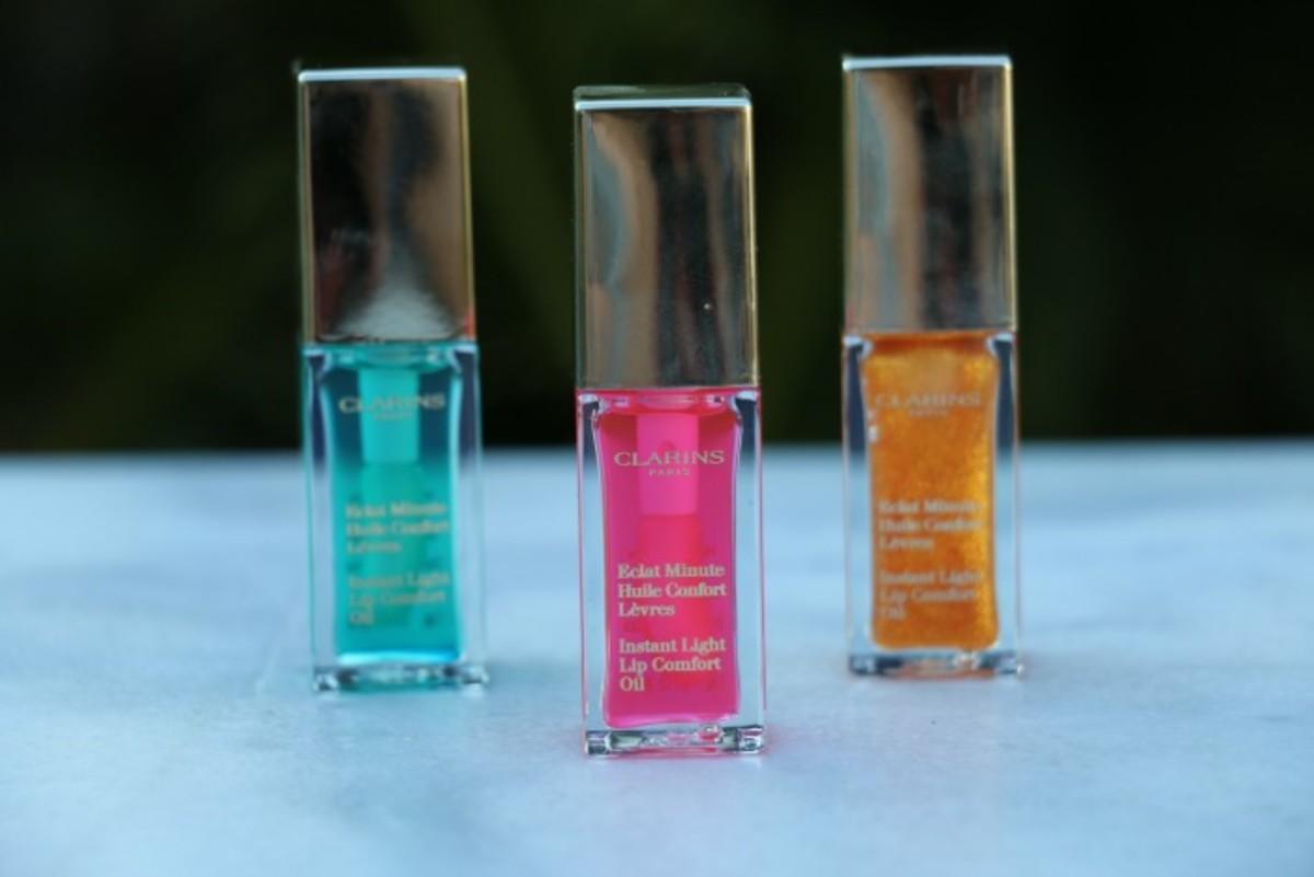 clarins lip oils