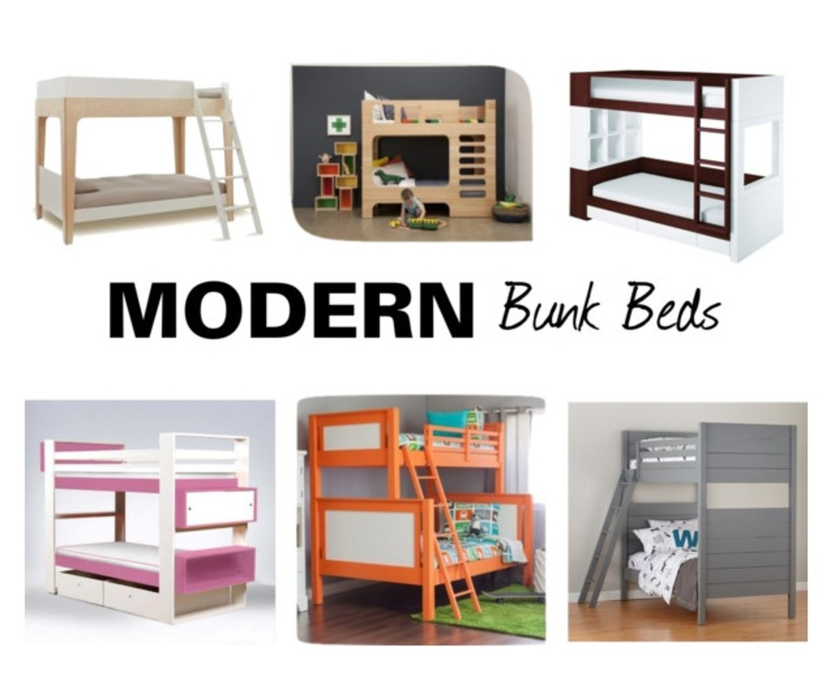 Gear Girl Modern Bunk Beds