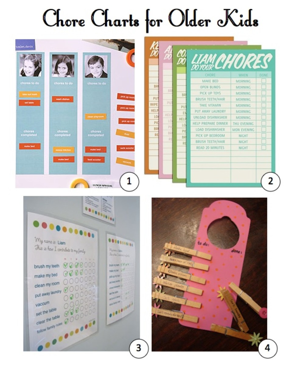 Gear Girl: Best Chore Charts For Kids