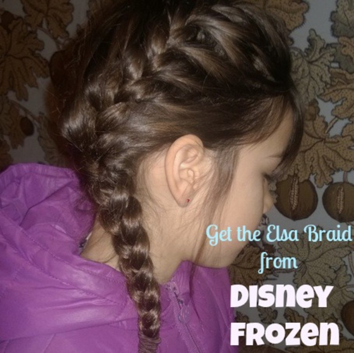 disney elsa braid