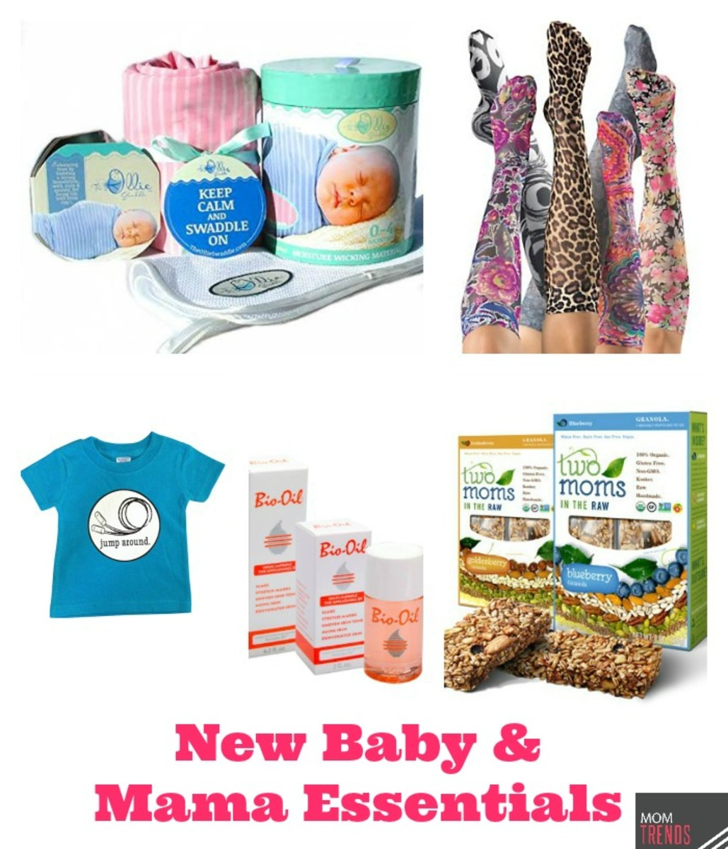 New Baby and Mama Essentials