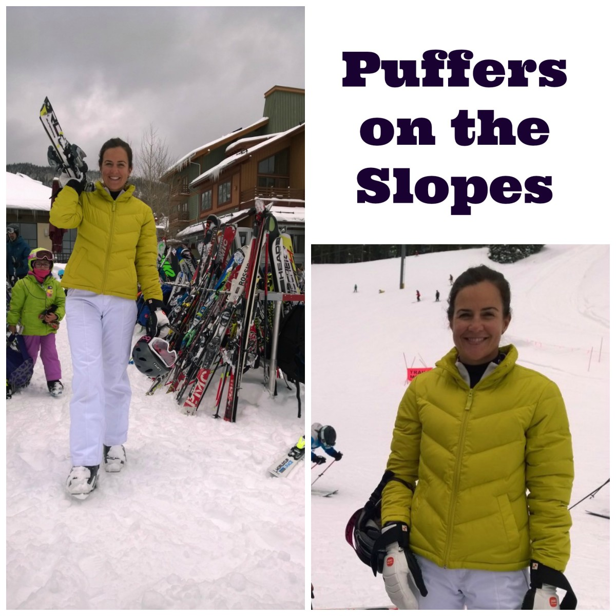 puffers on the slopes
