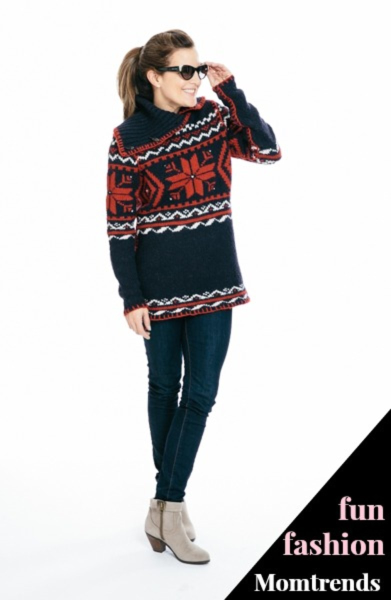 ralph lauren, western sweater, olympic style