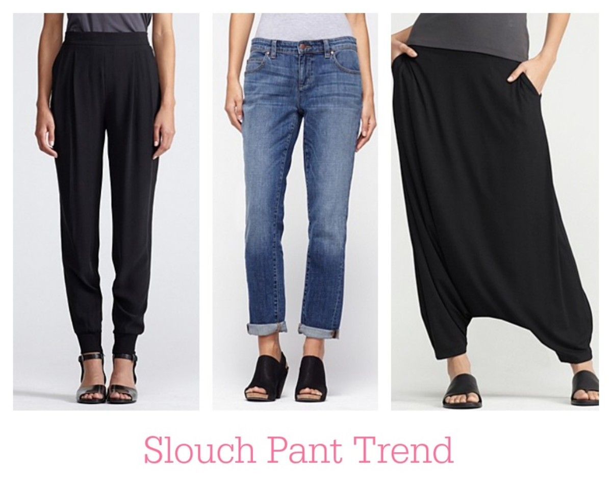 Slouch Pants, fashion