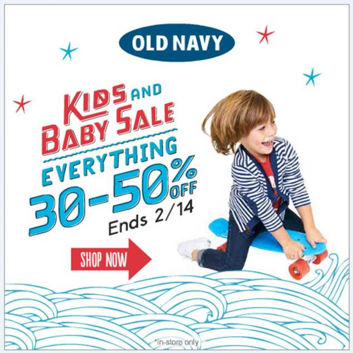 Old Navy Kids & Baby Sale