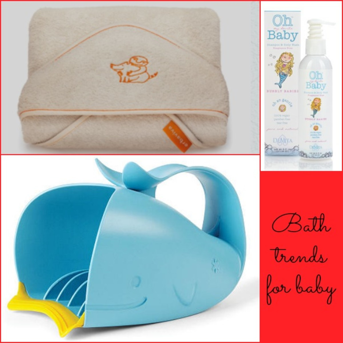erbaviva, bath trends, baby bath gear, skip hop, oh my devita baby, bath time for baby
