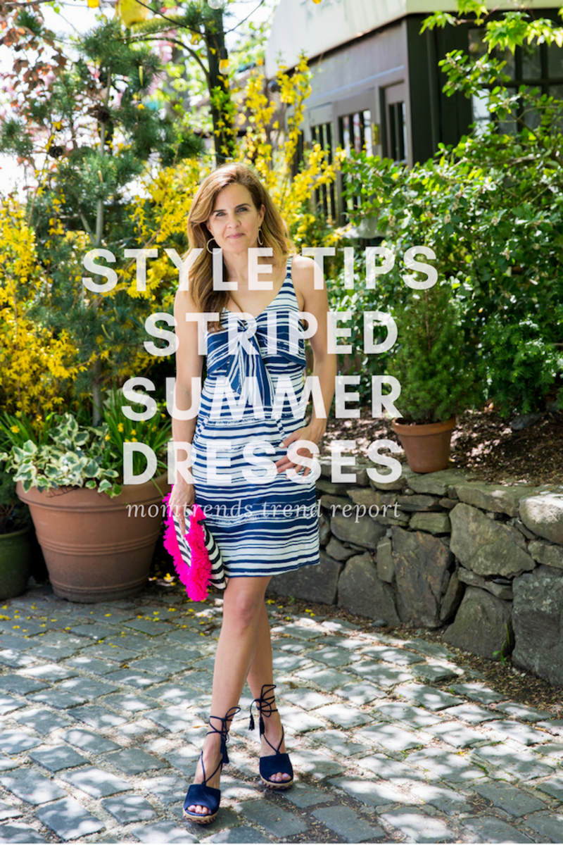 Cute Striped Summer Dresses style tips for how to wear them