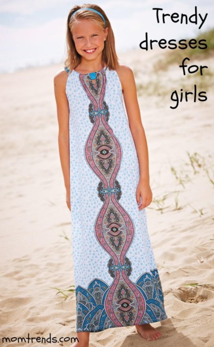 trendy dresses for girls