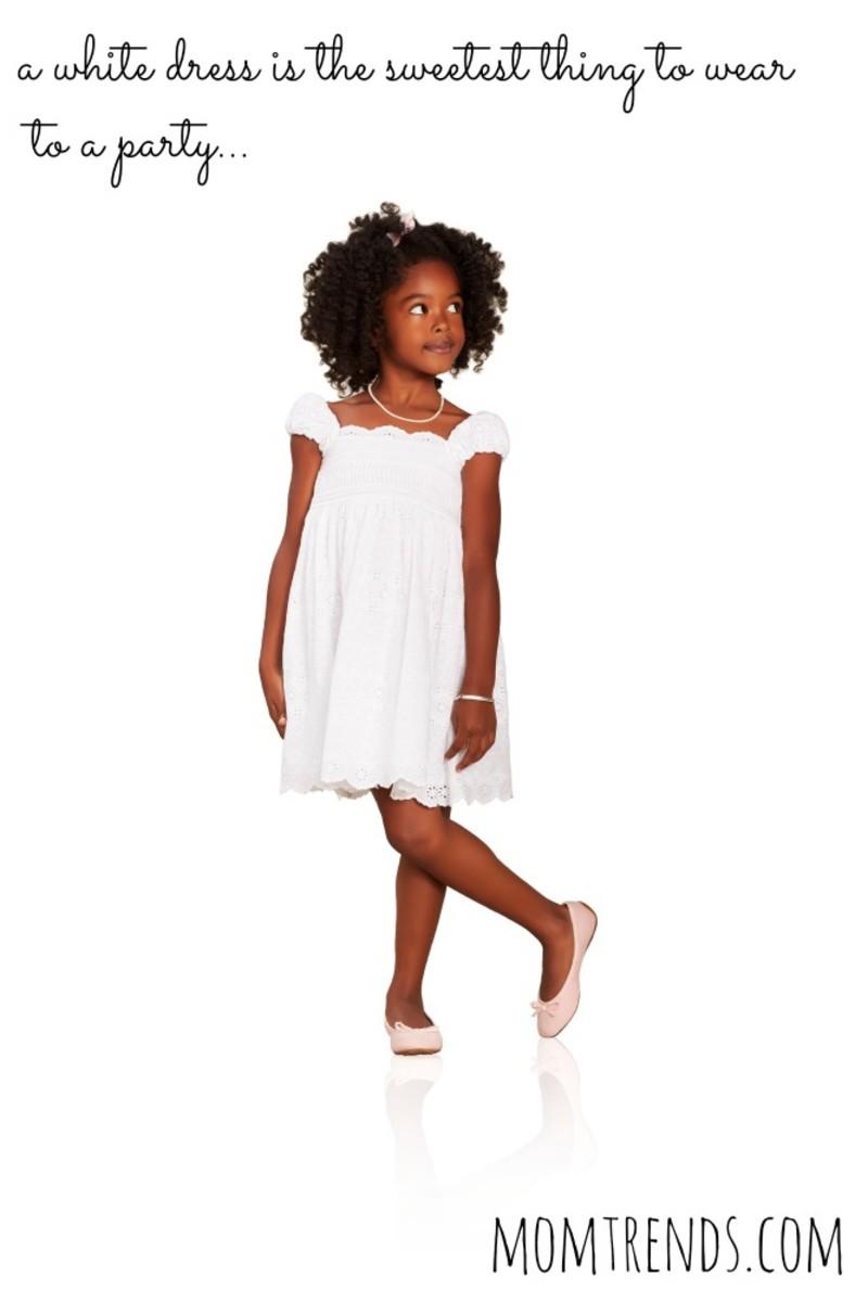 white eyelet dress from ralph lauren