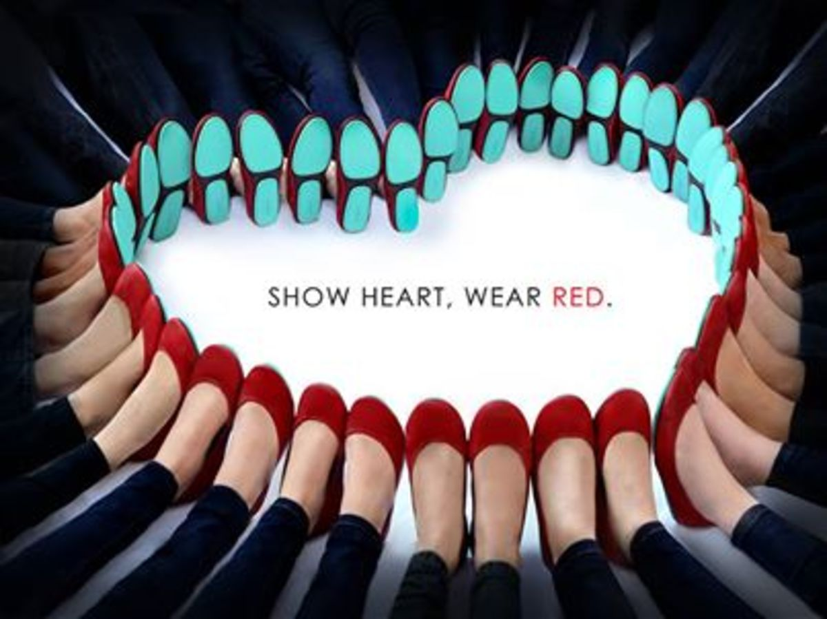 go red for women, #go red, tieks