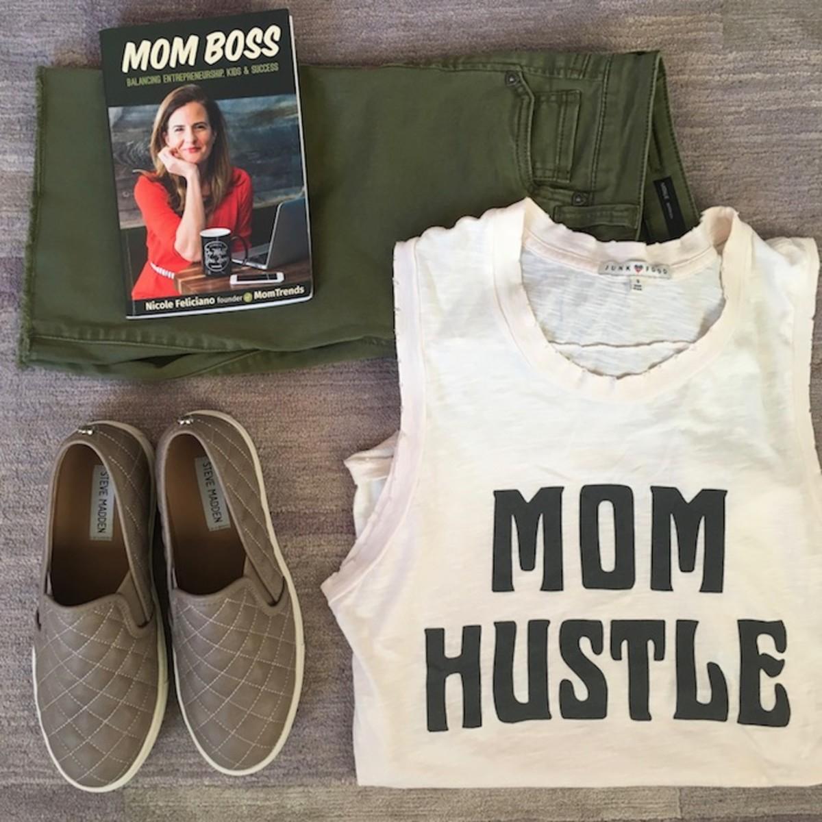 Mom Hustle T-shirt