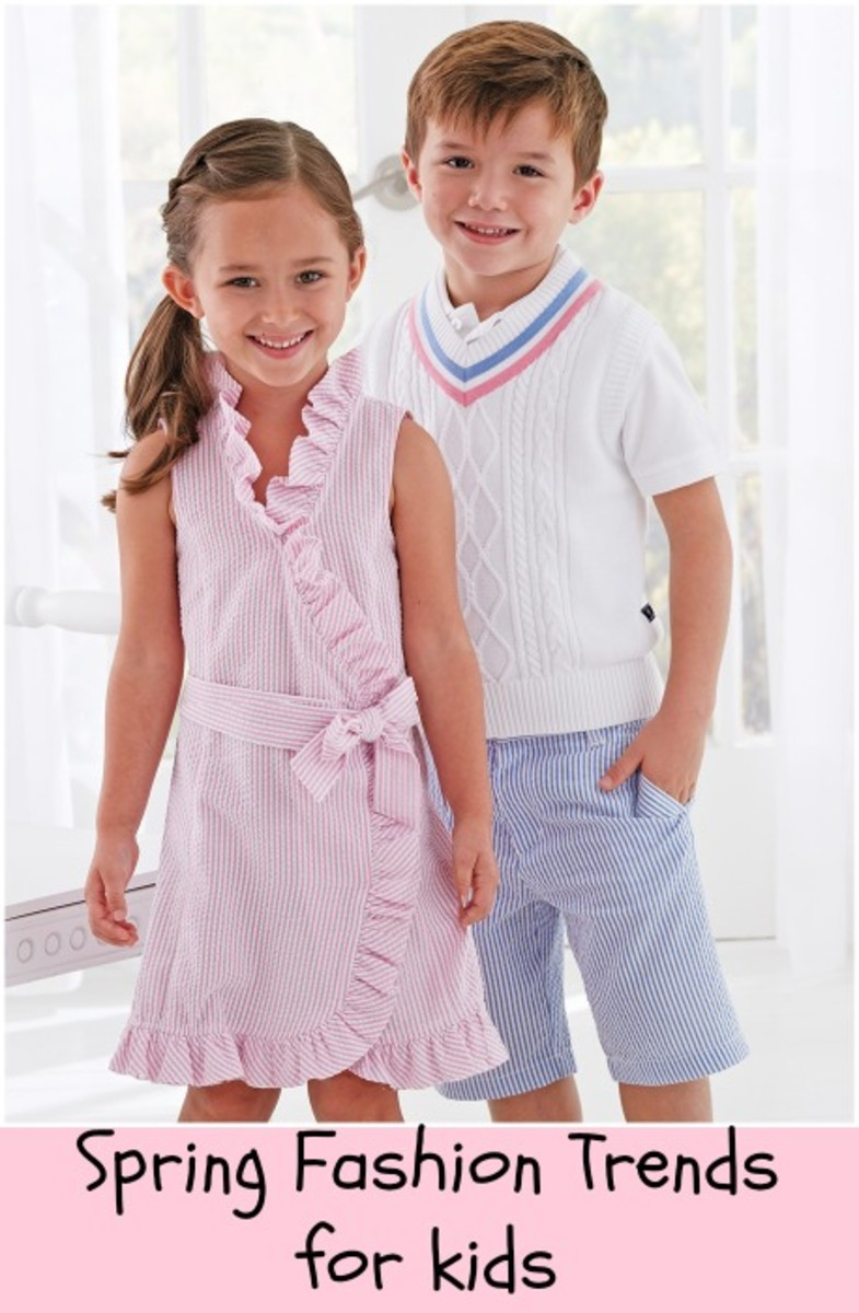 spring fashion trends for kids