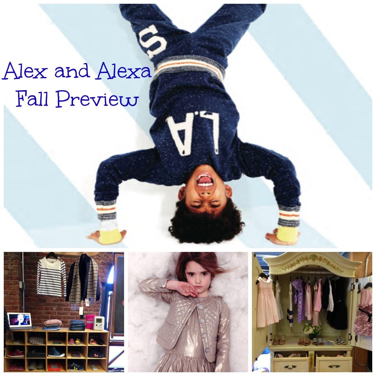 alex and alexa fall preview
