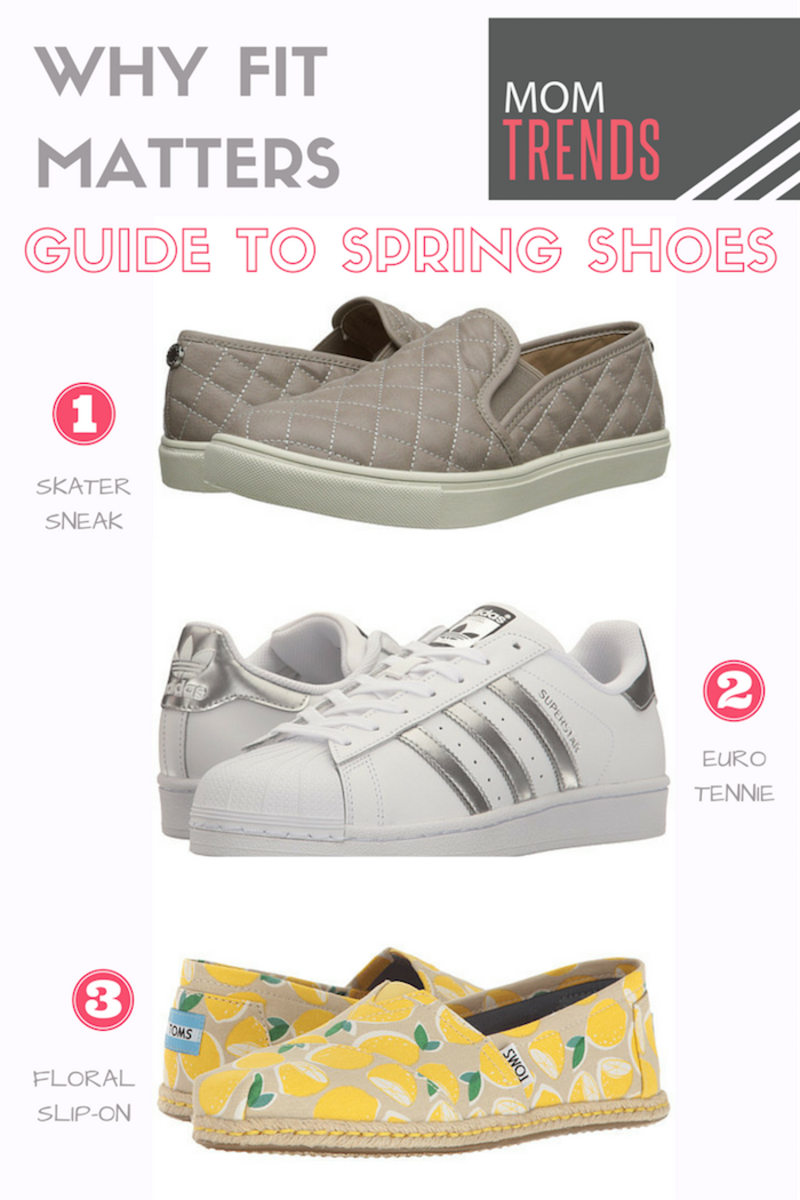 Why fit matters: guide to spring shoes
