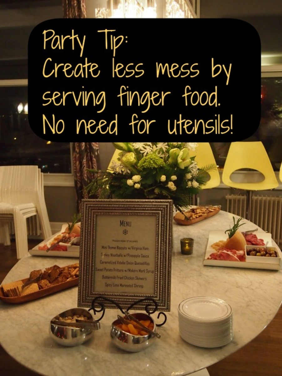 be a better hostess, stress-free parties