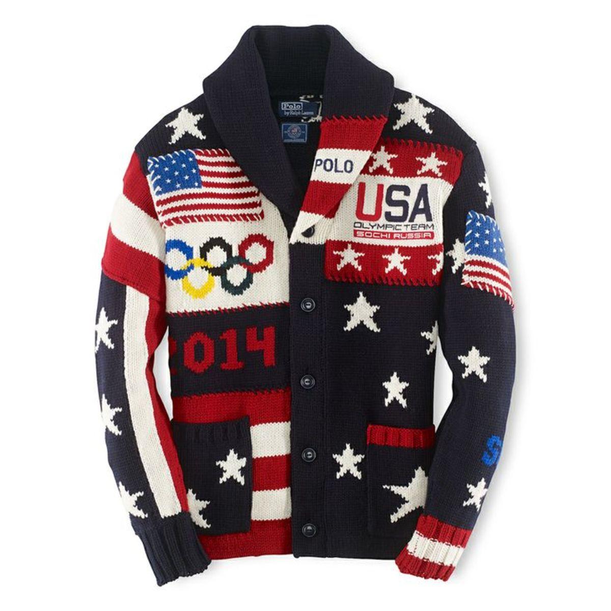Ralph Lauren Olympic sweater