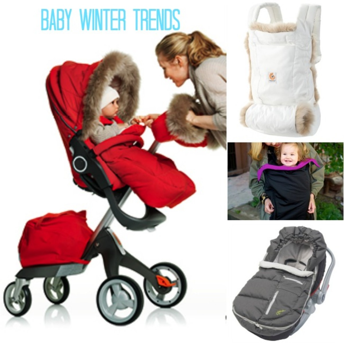 baby winter, stokke, jj cole bundleme, ergobaby, artic bundleme, hatch things, coldsnap