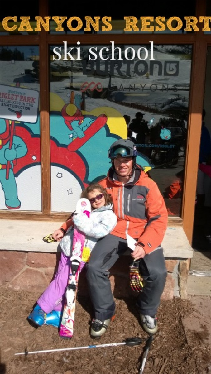 canyons resorts ski school