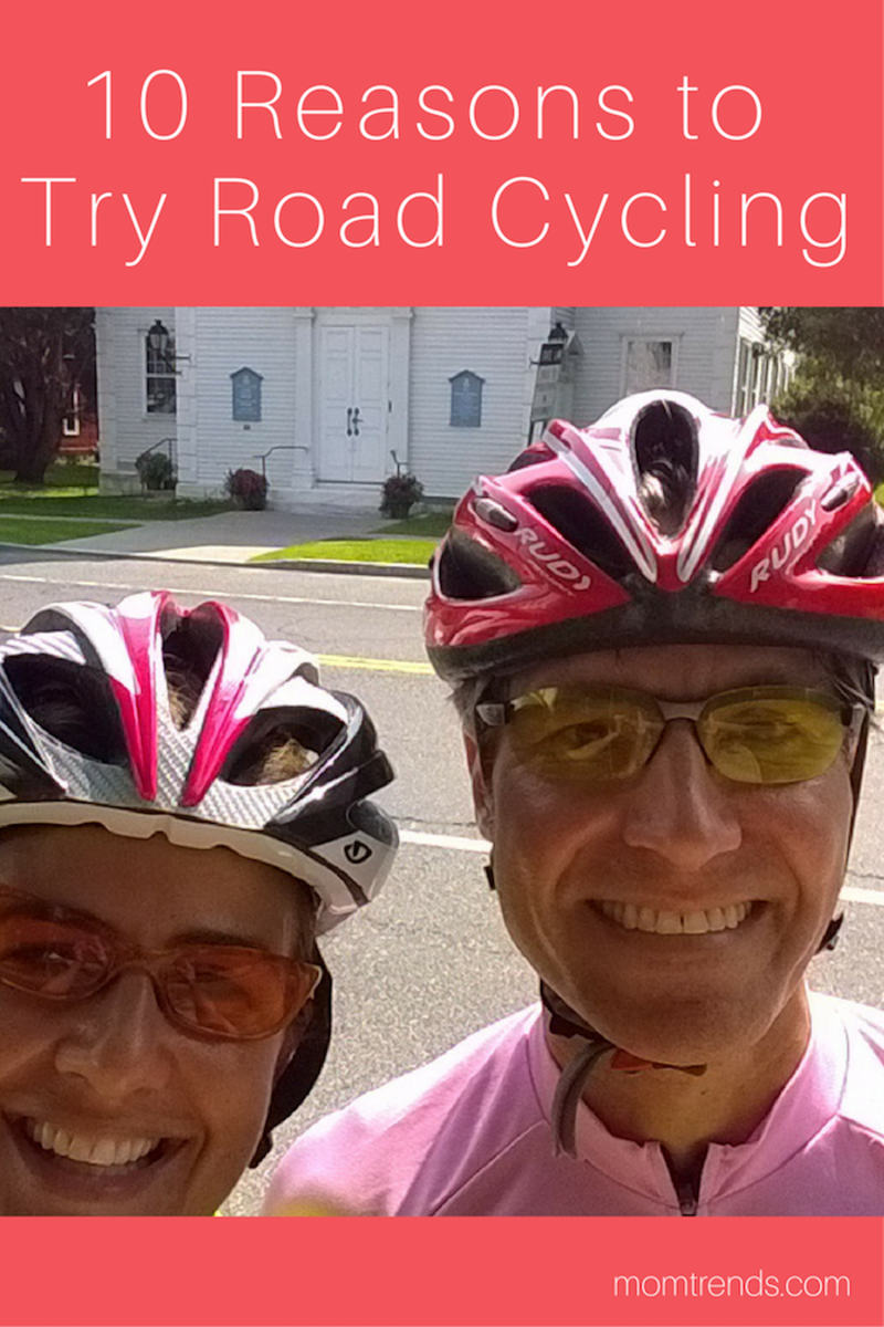 Ten Reasons to Try Road Cycling