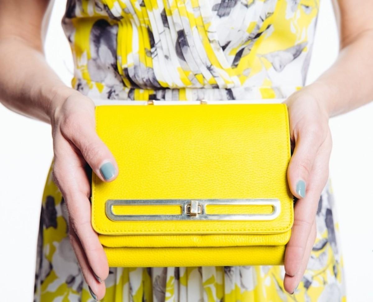 yellow bag