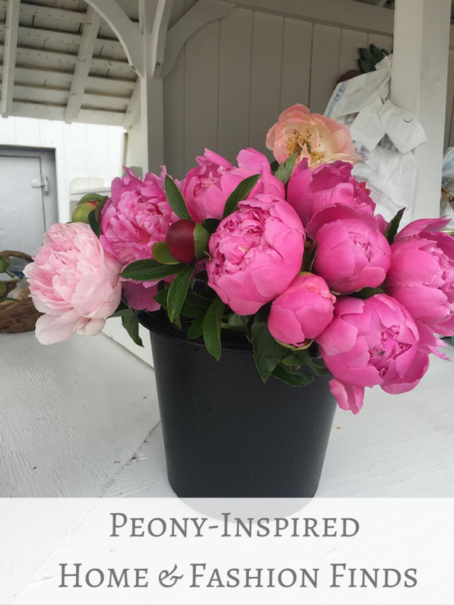 Peony-Inspired Pieces