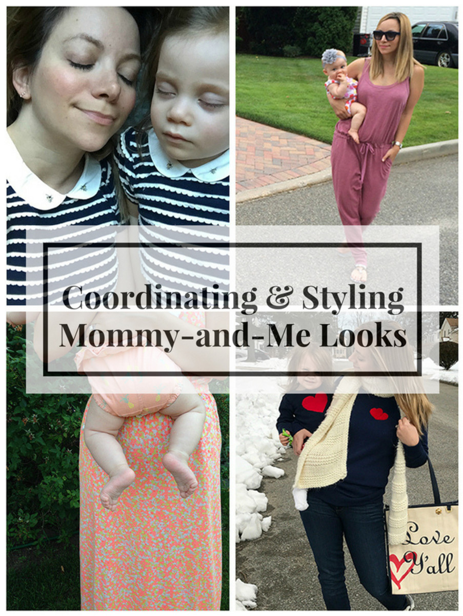 coordinating and styling mommy and me looks