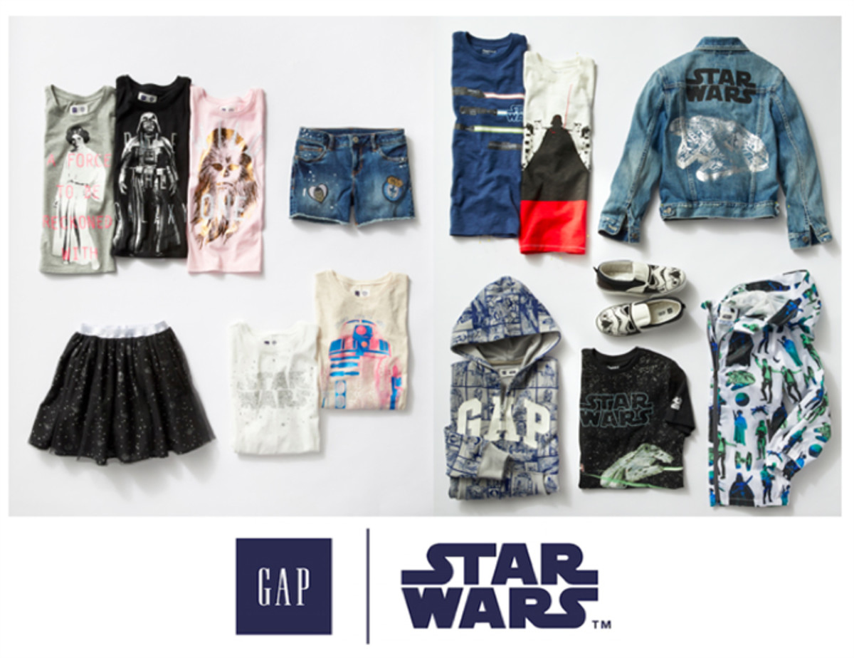 gap kids star wars