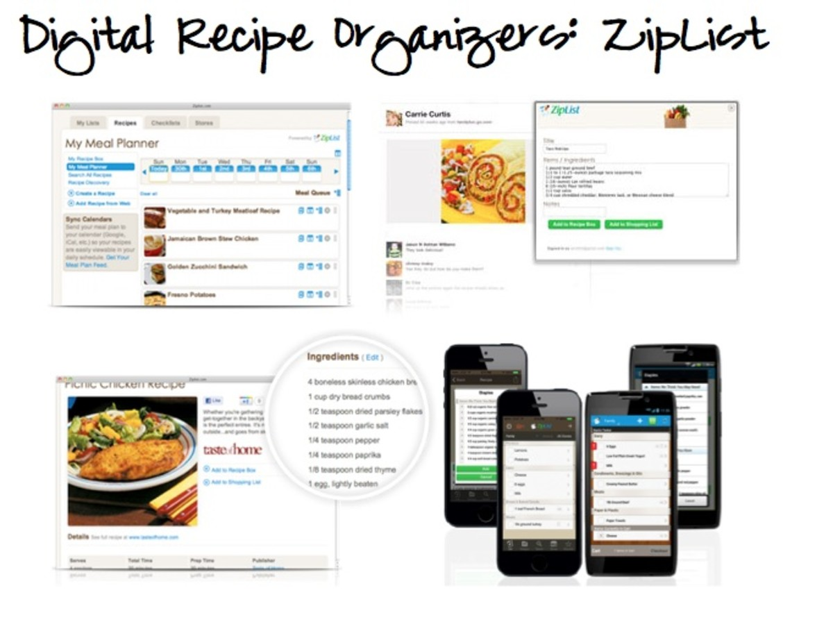 online recipe organizers